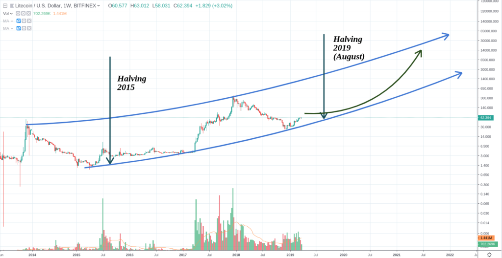 LITECOIN: Pull back expected and Next Halving – TIMM